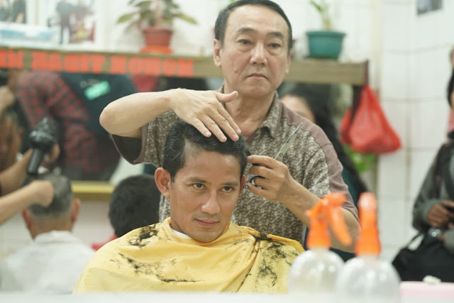 Heboh Foto Sandi Lagi Potong Rambut, Begini Respon Netizen