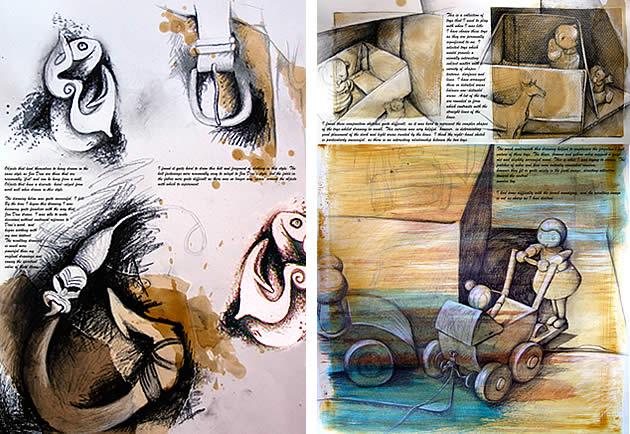 Art Class Blog: Sketchbook Approaches