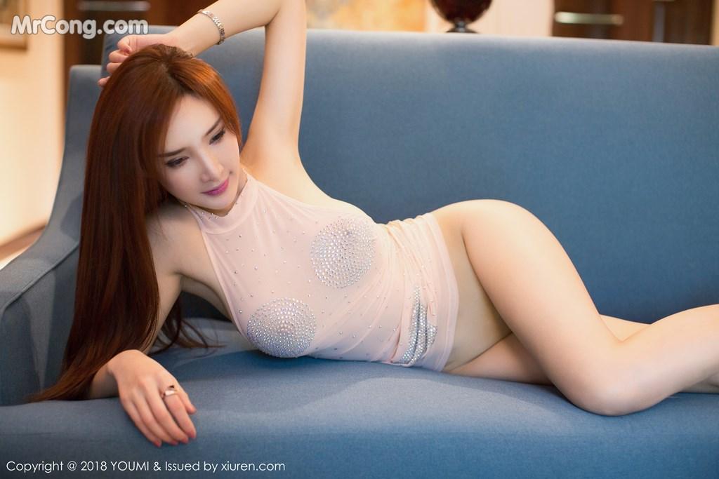 Image YouMi-Vol.112-Tu-Fei-Yuan-Ai-Cuo-Qiong-MrCong.com-003 in post YouMi Vol.112: Người mẫu 土肥圆矮挫穷 (51 ảnh)