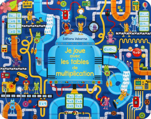 Je joue avec les tables de multiplication - Usborne