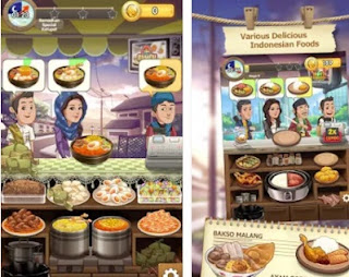 Game Warung Chain: Go Food Express Screenshot