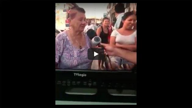 O CASO DA SENHORA QUE APROVEITOU QUE ESTAVA NA TV E FEZ UM APELO EMOCIONANTE