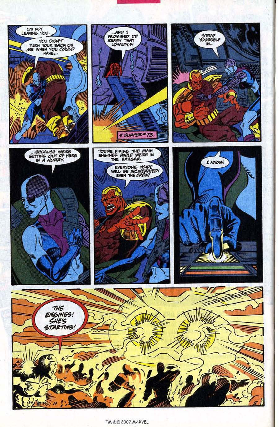 Read online Silver Surfer (1987) comic -  Issue #78 - 26