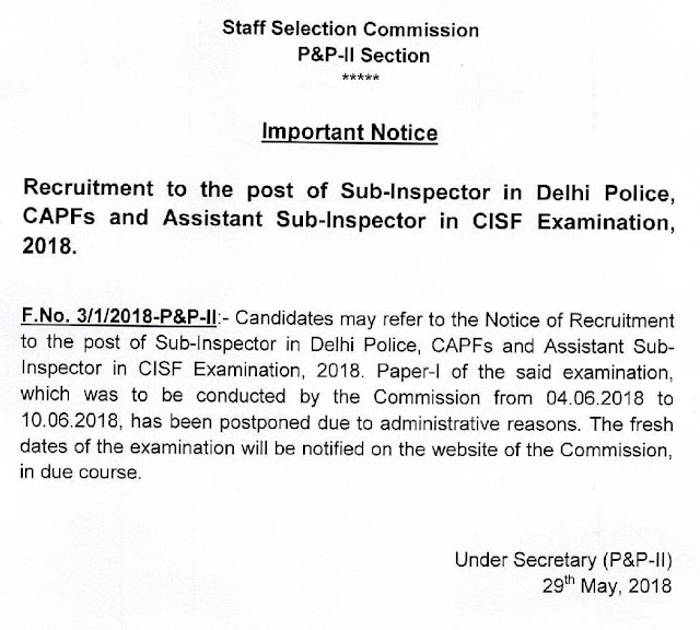 Sub+Inspector+in+Delhi+Police+Postponed