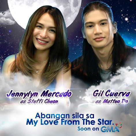 Meet The Filipino Versions Of Matteo Do And Steffi Cheon In The Remake of 'My Love From The Star'!