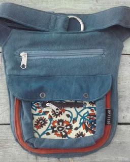 Cartucheira pochete Belecar bolsa exclusiva capulana tecido africano presente homem original