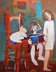 Escolteu (Quadre d'Elena Bech) per Teresa Grau Ros a Flickr