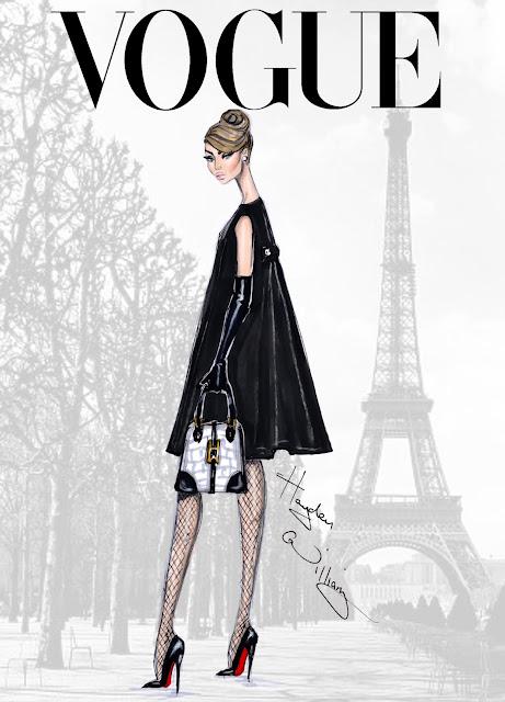Hayden Williams Fashion Illustrations: 'Bonjour Paris' by ...