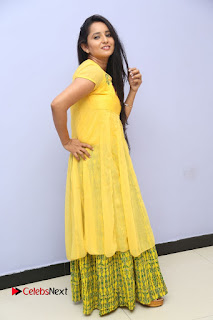 Actress Ishika Singh Pictures in Yellow Dress at Kobbari Matta Teaser Launch  0099