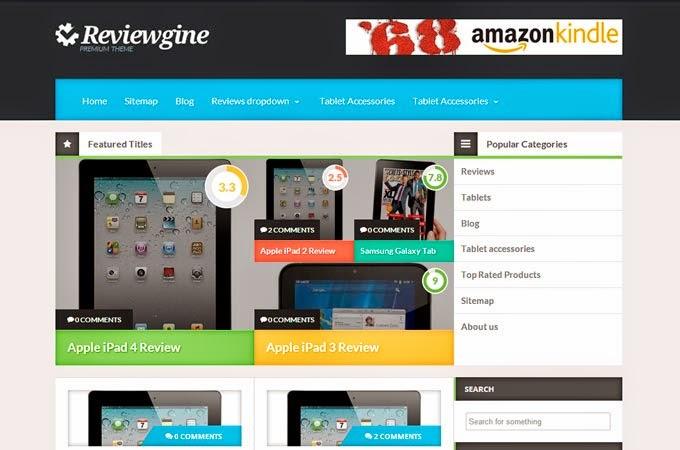 Reviewgine theme
