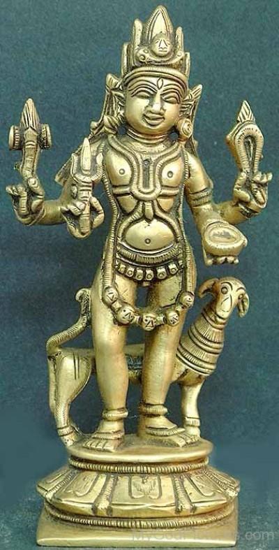 Hindu God bhairava image