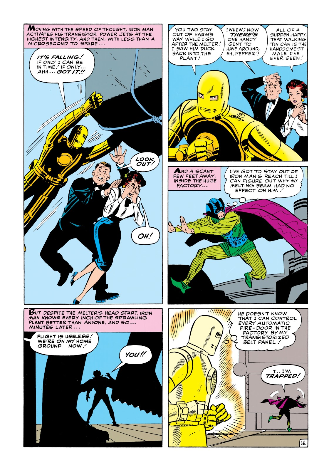 Read online Marvel Masterworks: The Invincible Iron Man comic -  Issue # TPB 1 (Part 2) - 36
