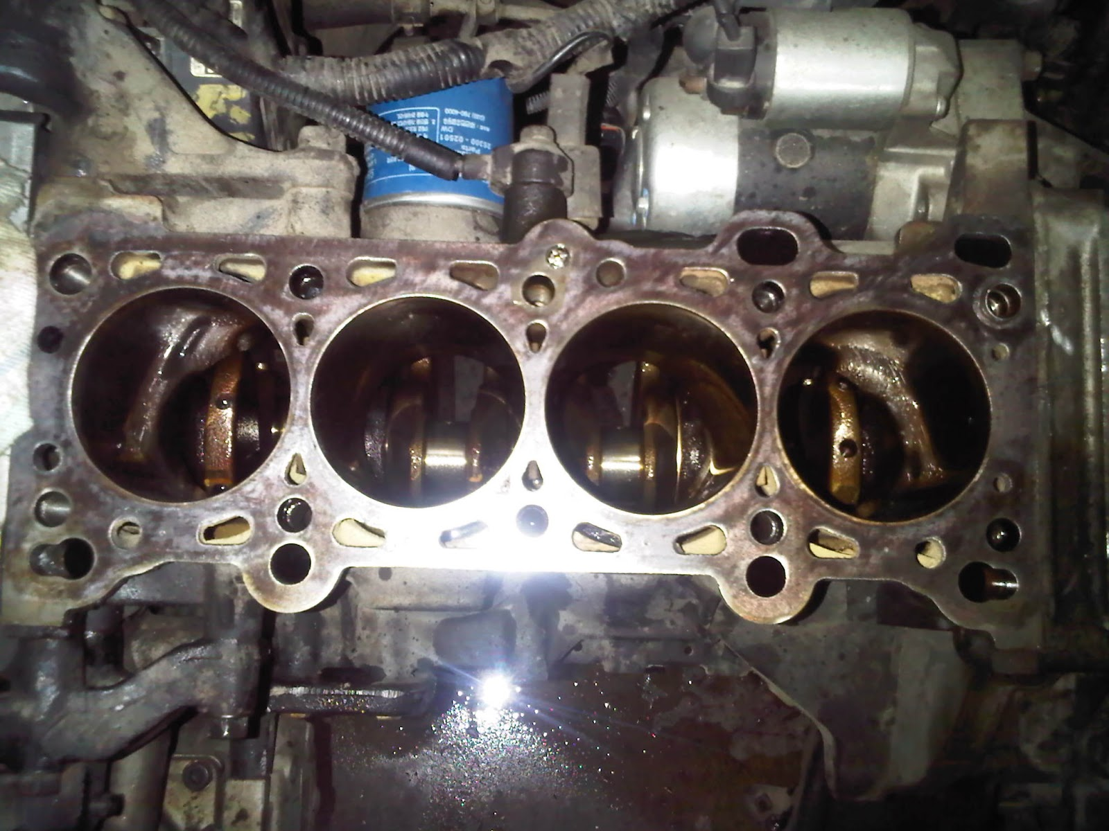 Saab Timing Belt Broken