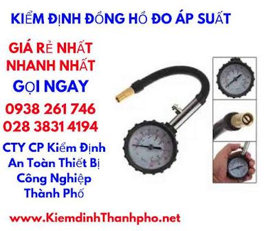 kiểm định đồng hồ đo áp suất