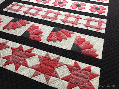 'Sew A Row' Sampler Quilt, Busy Bees Patchwork Newport