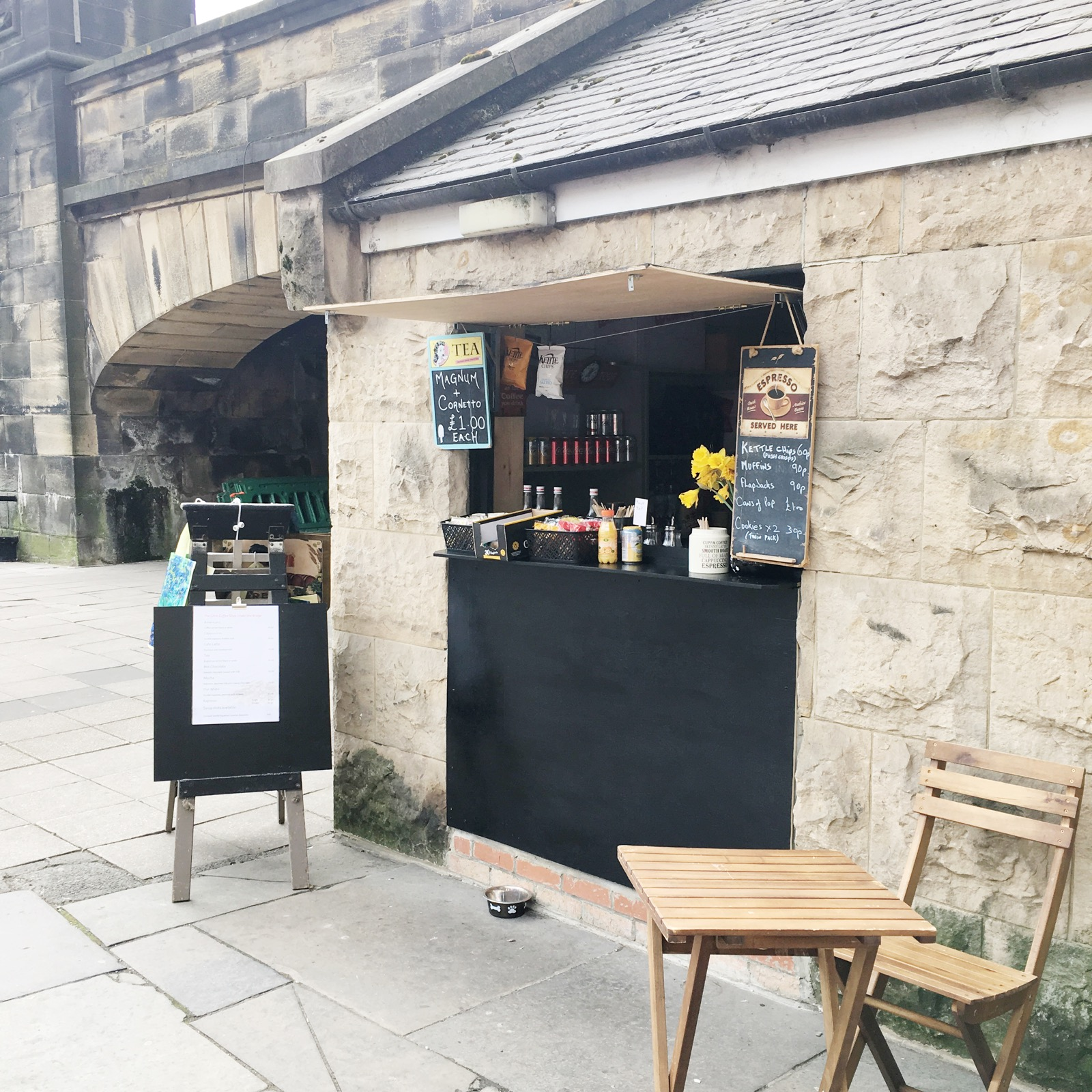 The Little Coffee Shop Under the Bridge - Newcastle