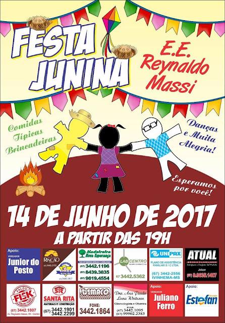 DIVULGAÇÃO FESTA JUNINA  d00bb8fa60e