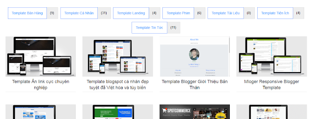 Tạo Widget Label Đẹp cho Blogspot