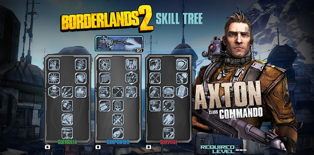 Borderlands 2 Commando Skill Tree
