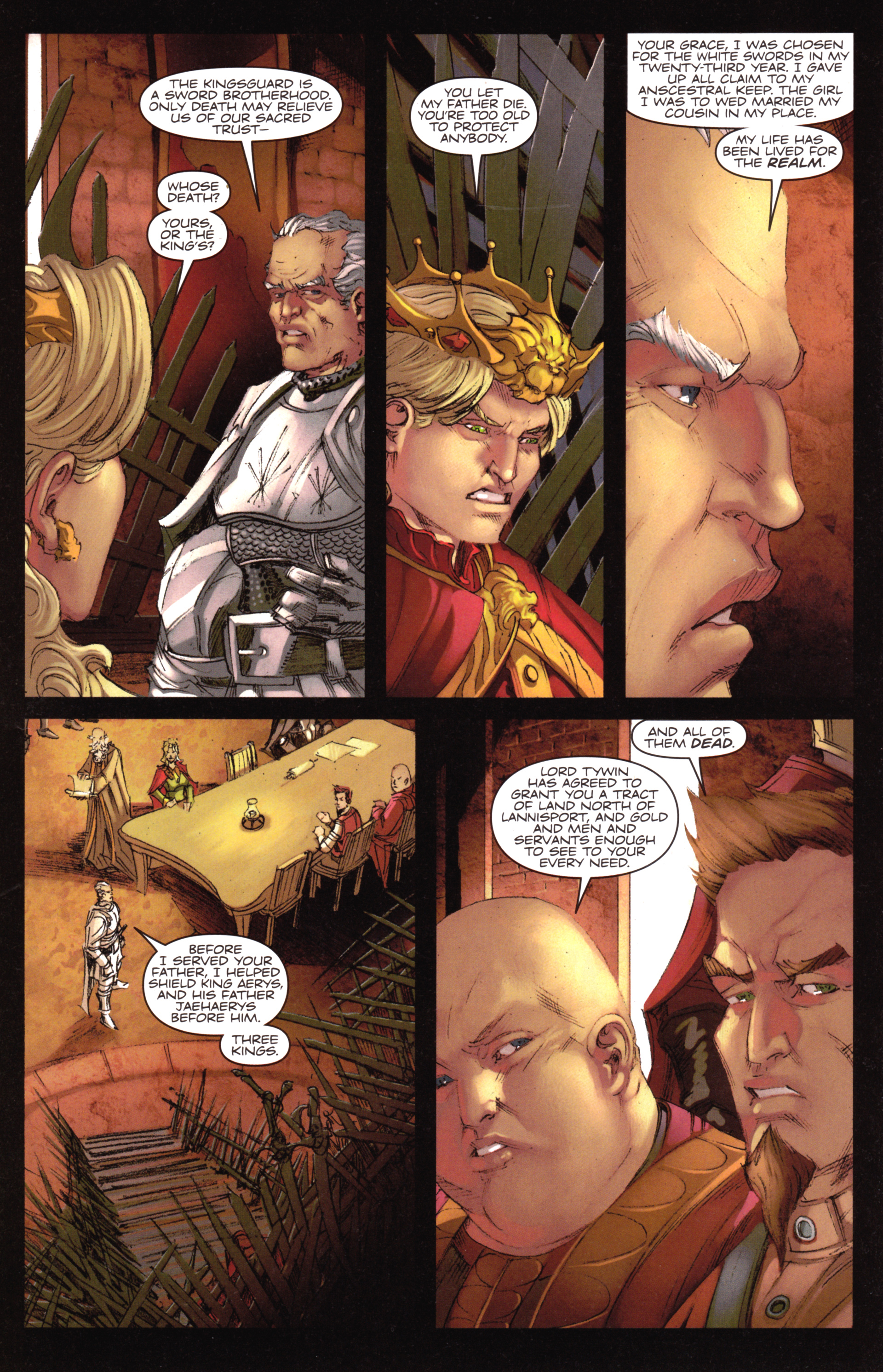 Read online A Game Of Thrones comic -  Issue #18 - 18