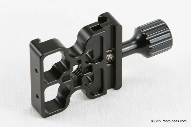 Desmond DAC-X1 Skeleton QR Clamp - side-bottom view