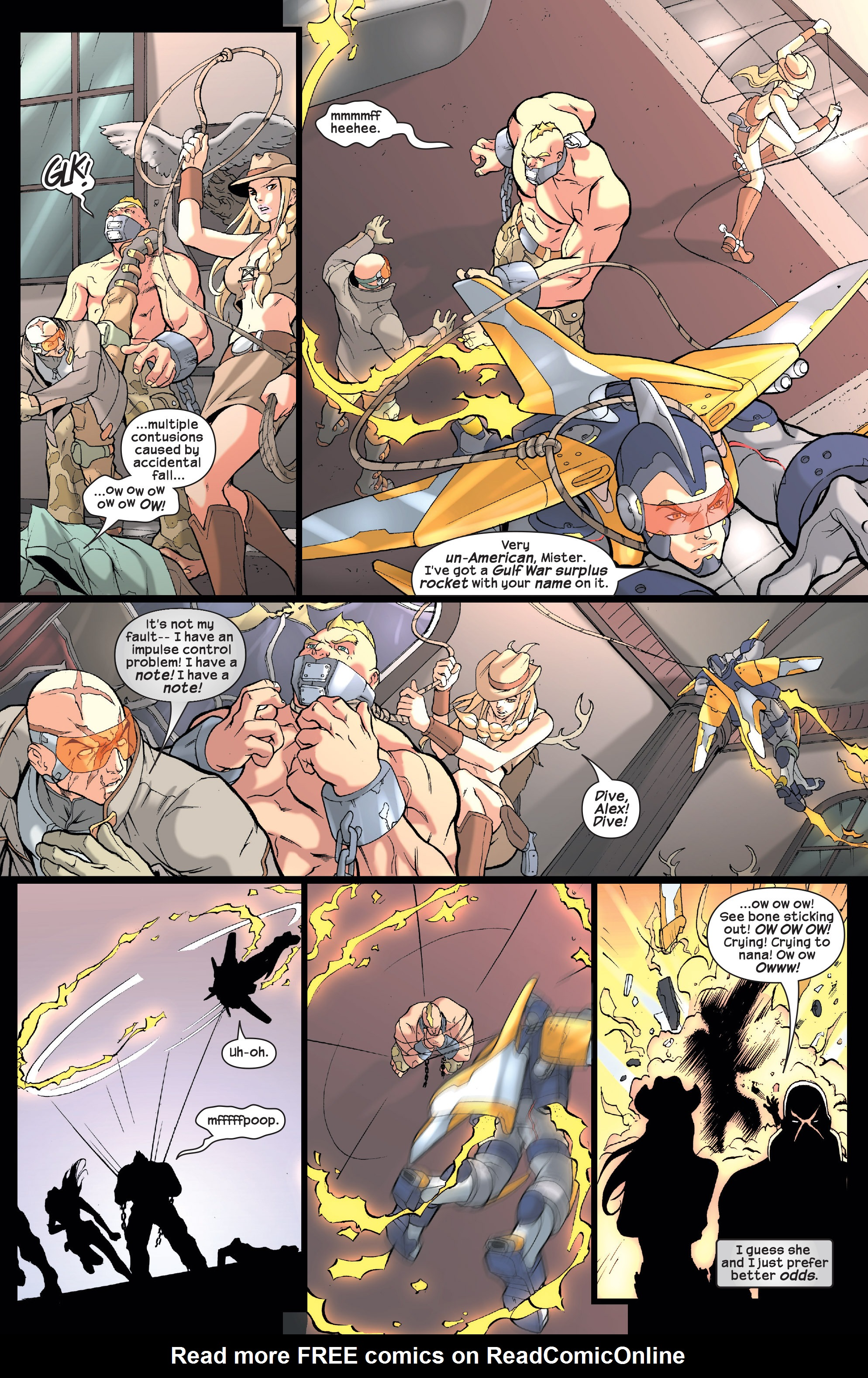 Read online Agent X comic -  Issue #2 - 10