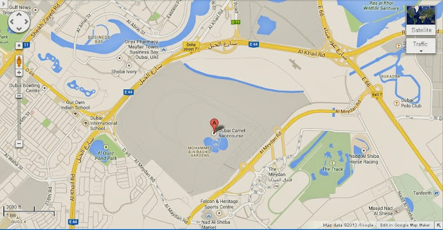 Meydan Racecourse Dubai Location Map,Location Map of Meydan Racecourse Dubai,Meydan Racecourse Dubai accommodation destinations attractions hotels map photos,meydan racecourse nad al sheba address stable tours