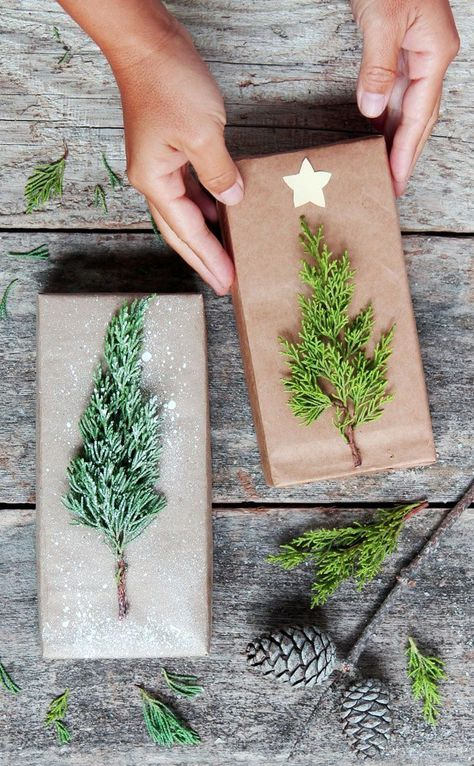 GORGEOUS DIY CHRISTMAS GIFT WRAPPING IN 5 MINUTES