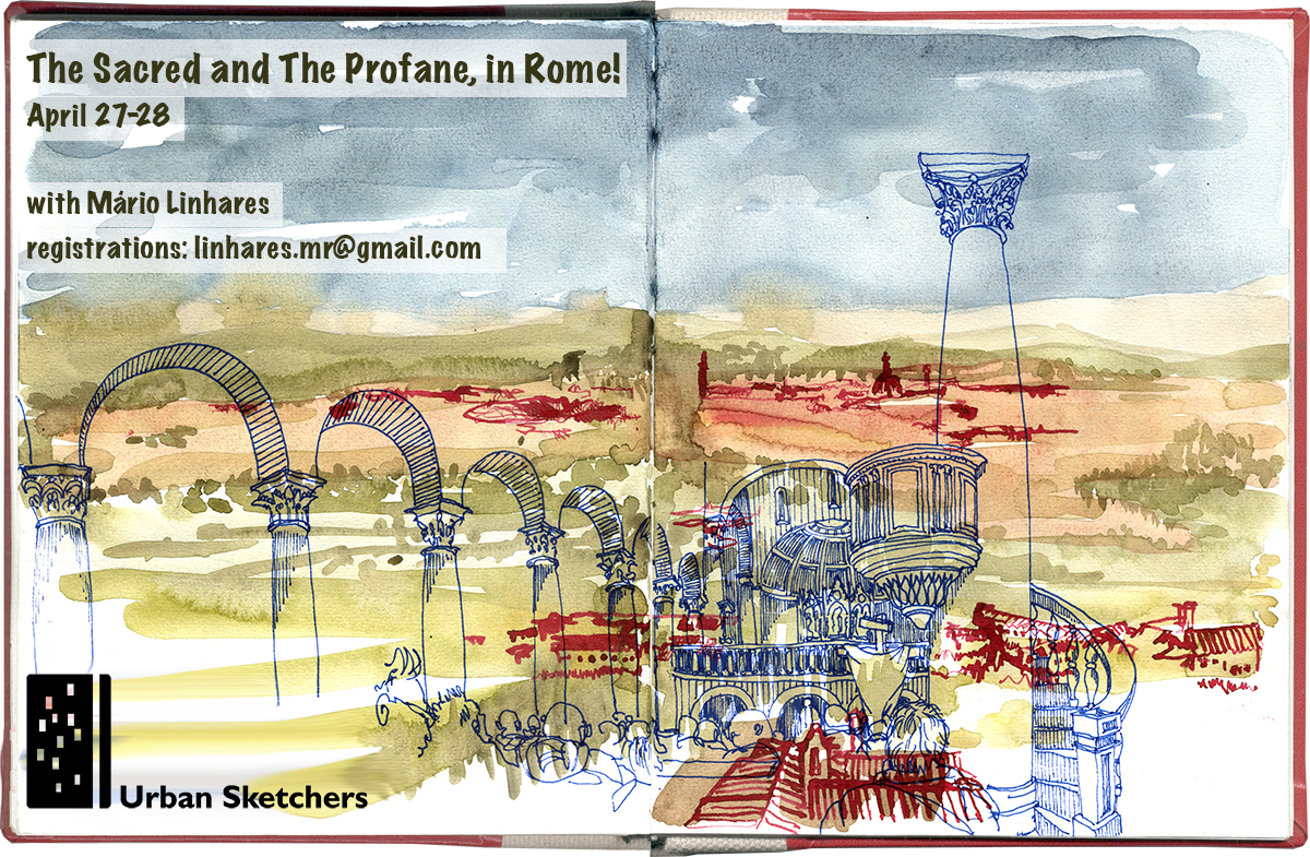USk Workshop: The Sacred and The Profane, in Rome!
