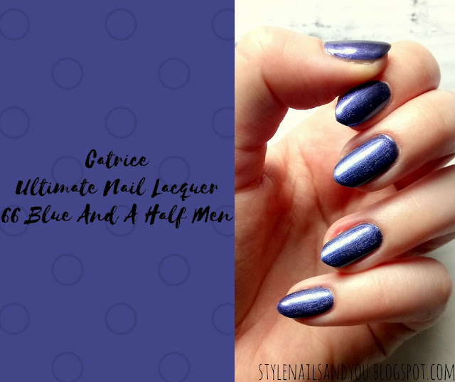 Catrice Ultimate Nail Lacquer 66 Blue And A Half Men