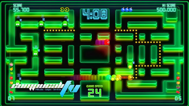 PAC MAN Championship Edition DX Plus PC Full Español