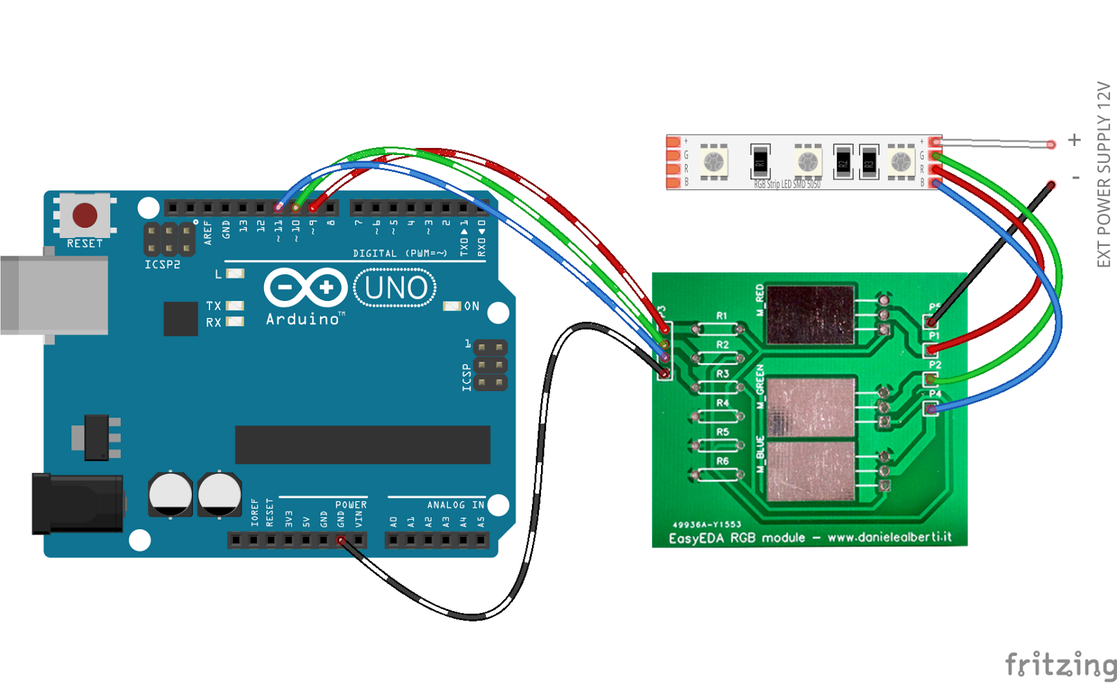 collegare RGB LED a Arduino online dating Banbury