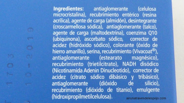 ingredientes reconnect evitar cansancio