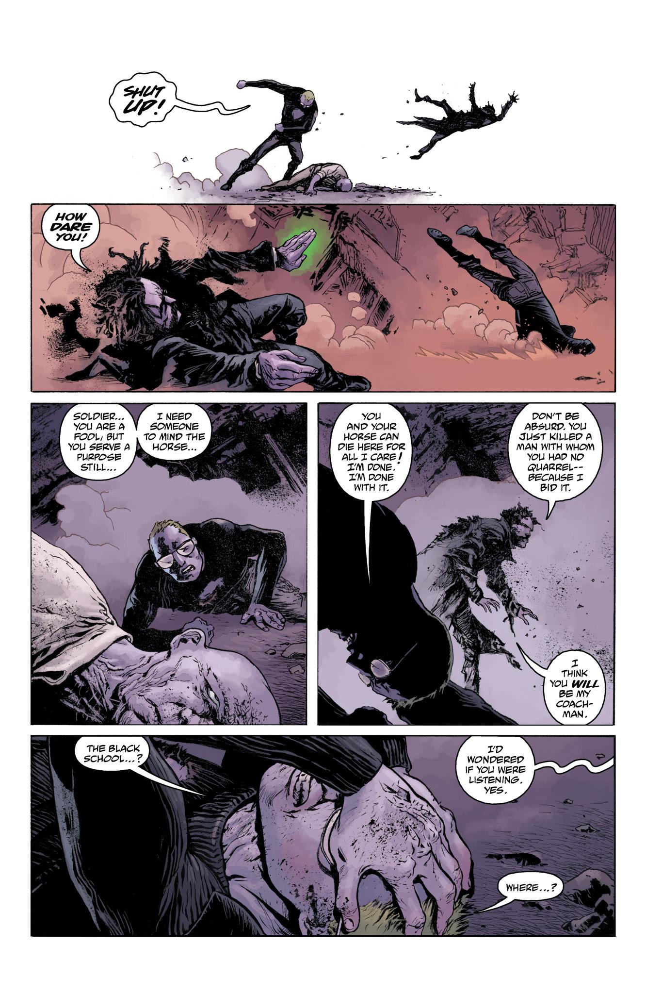 Read online Abe Sapien comic -  Issue #11 - 23