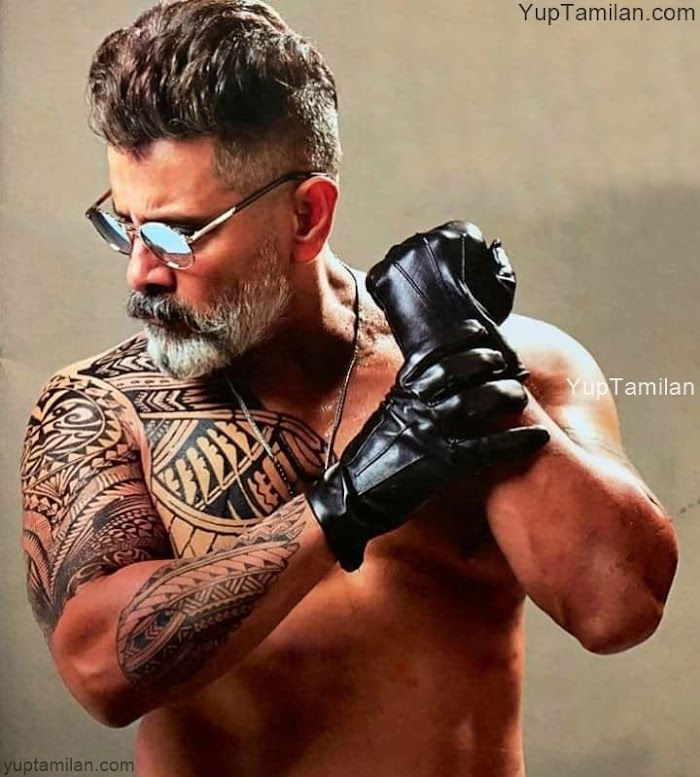 Vikram Mass Photos and Stills from Movie Kadaram Kondan