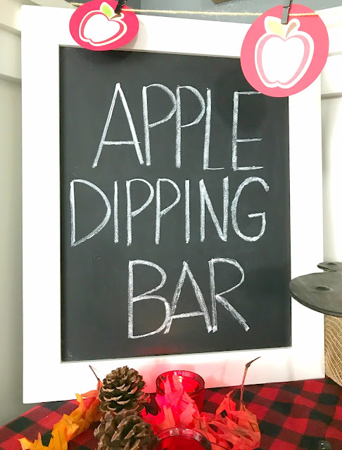 Create your own Apple Dipping Bar.