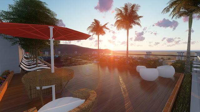 View tầng cao căn hộ Sơn Trà Ocean View Đà Nẵng - View biển Mỹ Khê