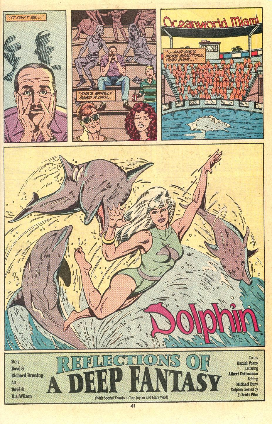 Read online Secret Origins (1986) comic -  Issue #50 - 43