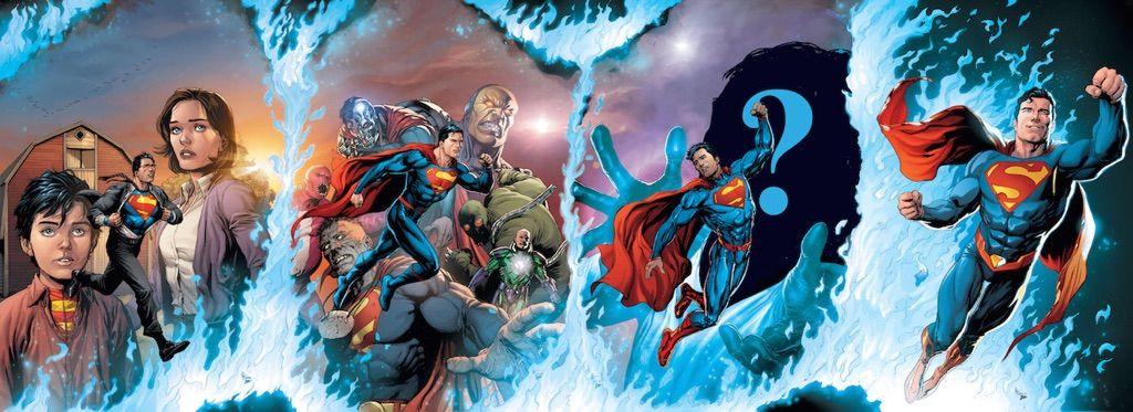 """Reseña de """"Superman: Renacido"""" de Dan Jurgens - ECC Ediciones"""