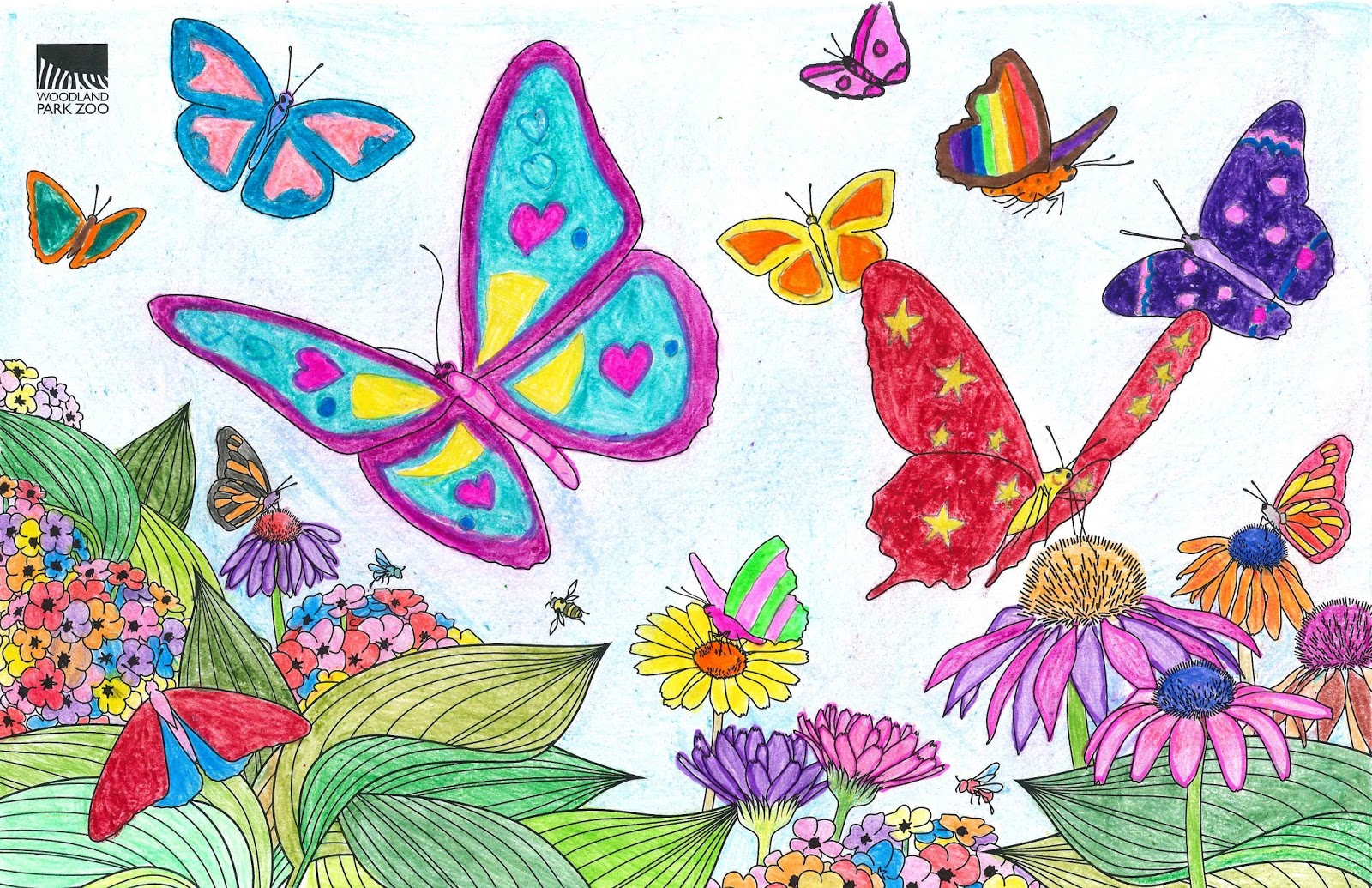 Butterfly Wings coloring contest: winners announced!