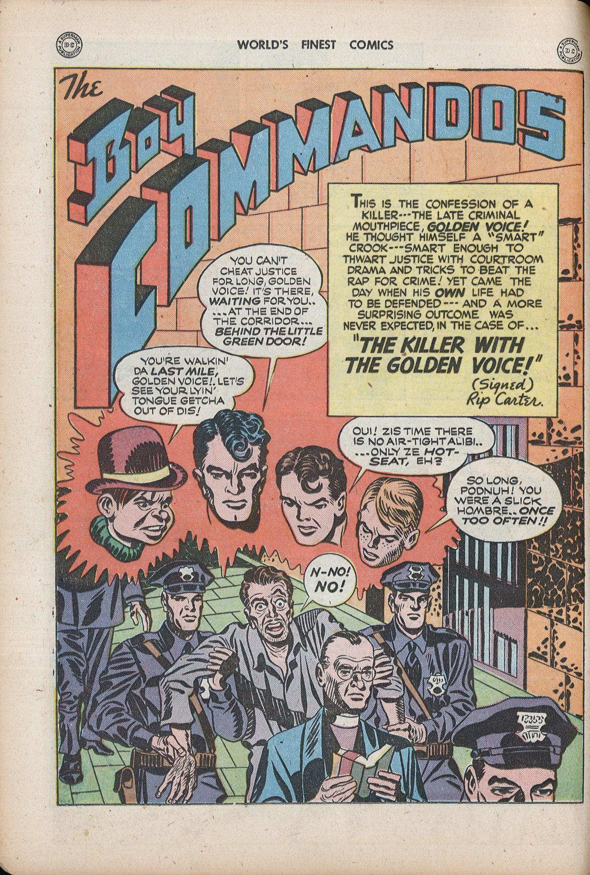 Read online World's Finest Comics comic -  Issue #32 - 38
