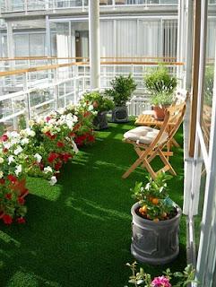 Ideas decoración balcón