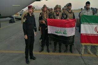 مشاركة الاستخبارات العسكرية العراقية في المناورات العراقية - الايرانية