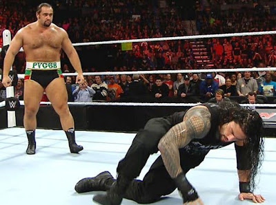 Summerslam 2016 Roman Reigns vs Rusev Match