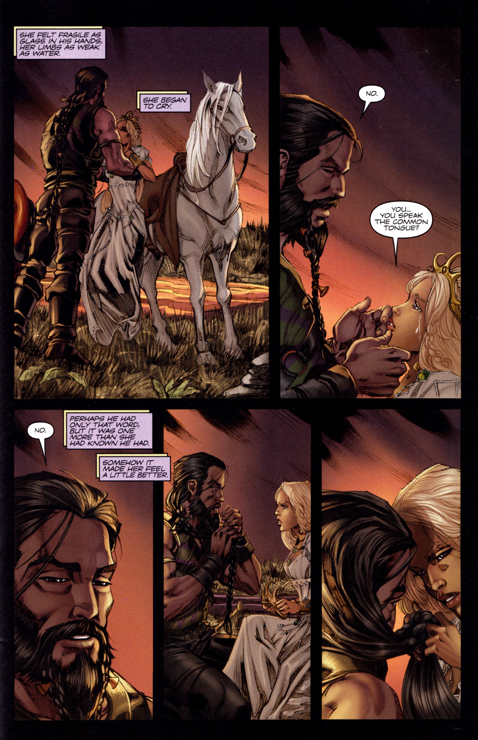 Read online A Game Of Thrones comic -  Issue #3 - 29