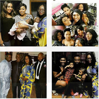 Nollywood Filmmaker Emem Isong as of late had her children commitment in Lagos and it was elegant.