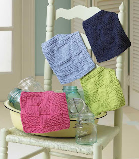 Everyday Life At Leisure Knit Dishcloths A New Pattern