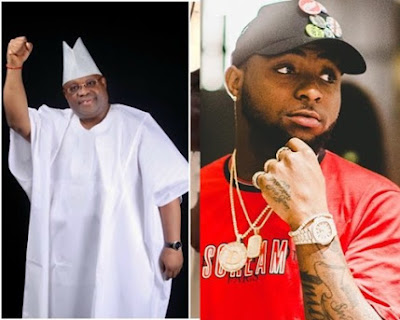 Davido congratulates uncle for winning Osun PDP governorship ticket