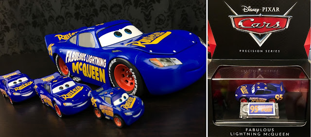 Cars 3 Precision Series Fabulous Lightning McQueen Die Cast Review
