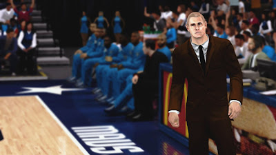 NBA 2K13 Coach Rick Carlisle Cyberface Patch